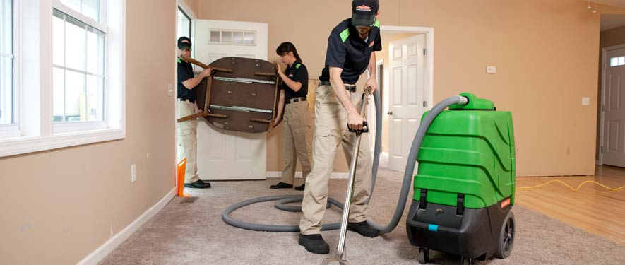Newport Beach, CA residential restoration cleaning